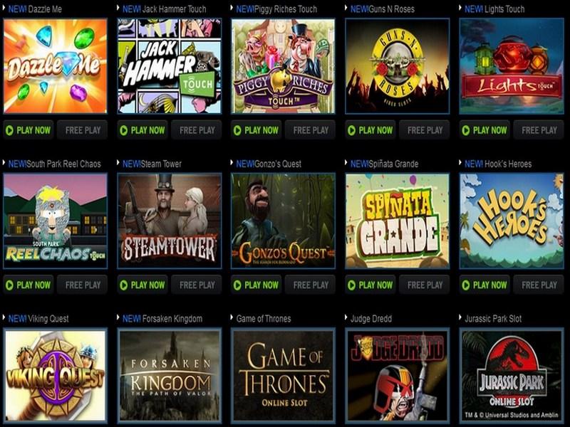 jackpot paradise online casino