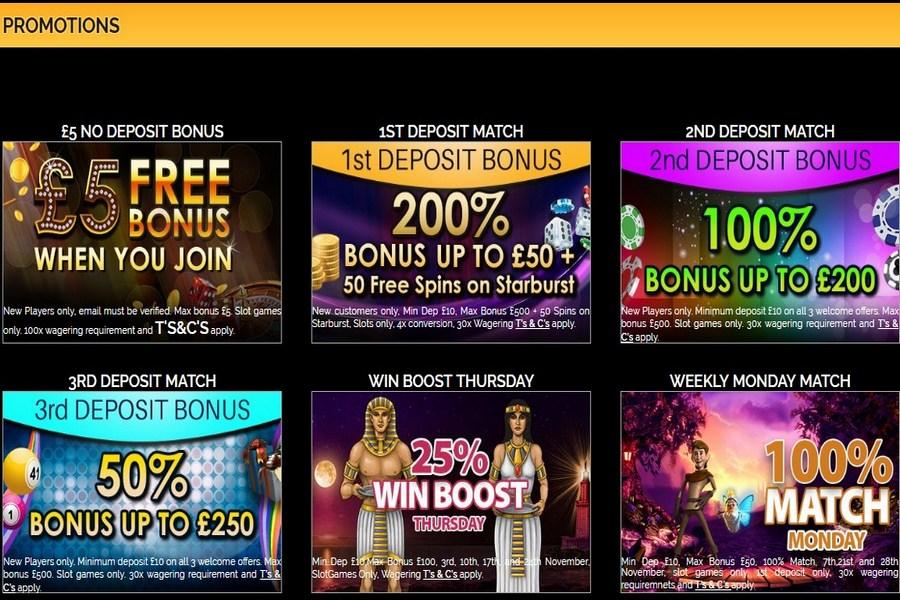 Free 5 casino mobile