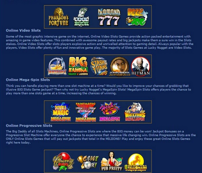 Lucky Nugget Casino Casino Review - Lucky Nugget Casino™ Slots & Bonus | luckynuggetcasino.com