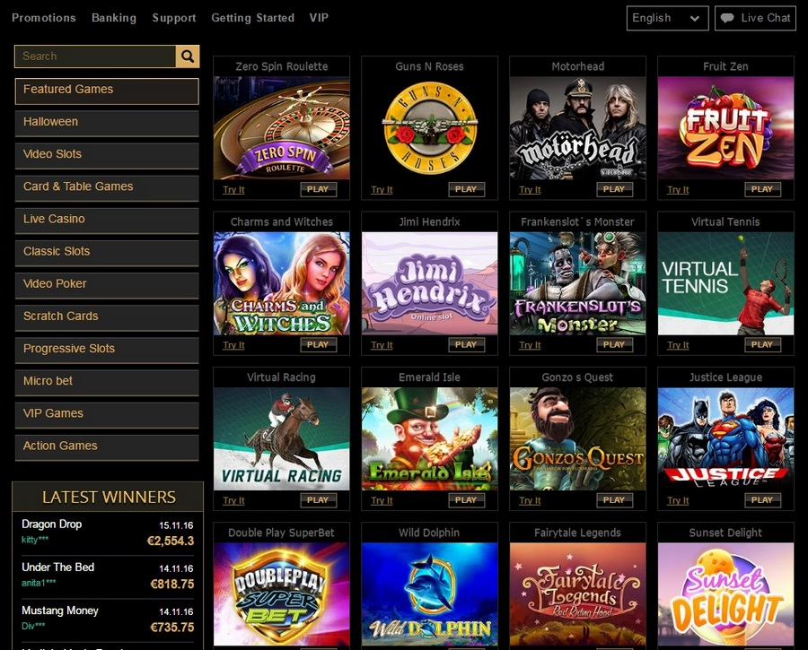 casino slot online english ark online