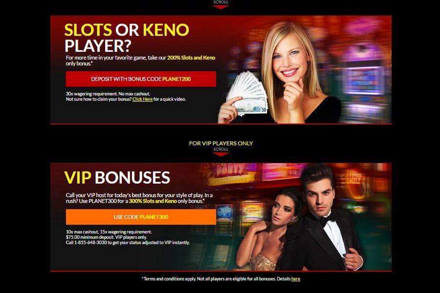 planet 7 casino address
