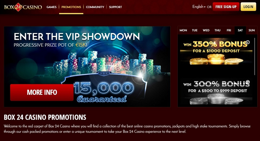Box24 Casino Slots