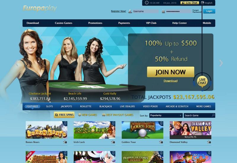 casino europaplay
