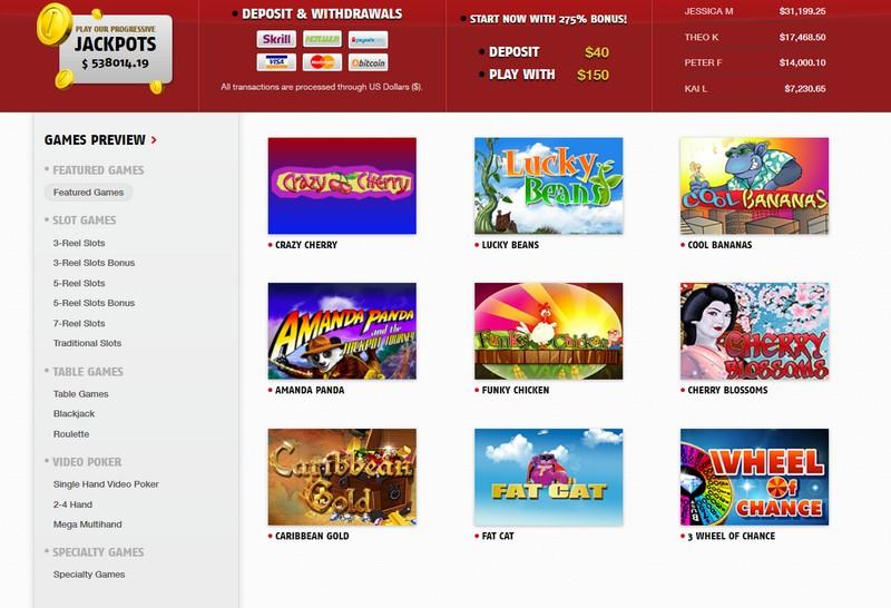 casino red.com