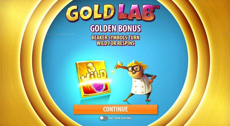 Gold Lab online slot game - QuickSpin