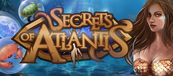 Unlock the Secrets of Atlantis slot by NetEnt