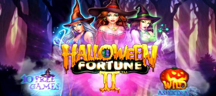 Halloween Fortune II - new slot release from Playtech