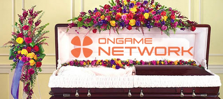 ongame poker network closing