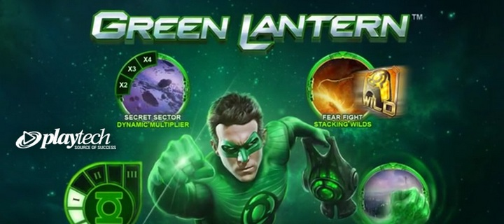 Playtech Releases Trailer of Upcoming Green Lantern Slot