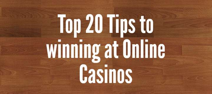 tips to online casinos