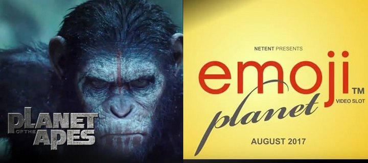 NetEnt to Release Planet of the Apes & Emojiplanet Video Slots in 2017