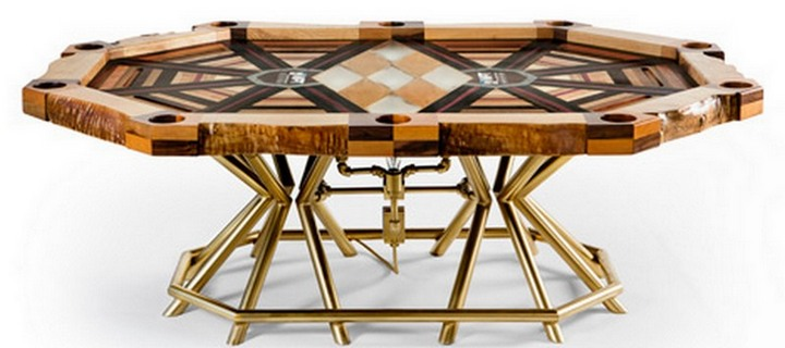 Poker Table for the World Poker Tour's for $ 75,000