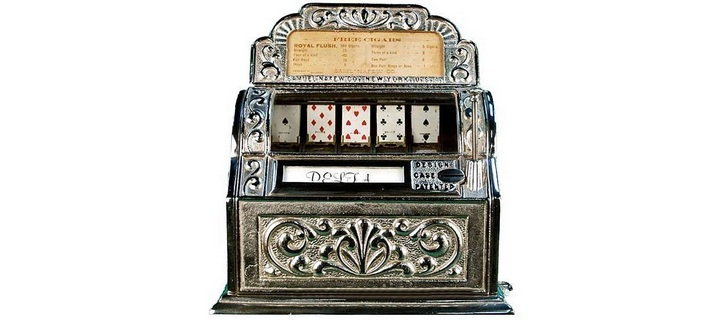 Sittman and Pitt poker card machine