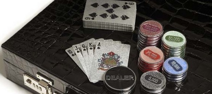 Most Expensive Golden Poker Set