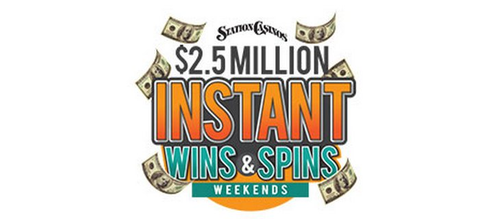 .5 Million Instant Wins & Spins Weekends in April