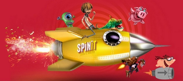 Get a weekend spin at Spinit Casino