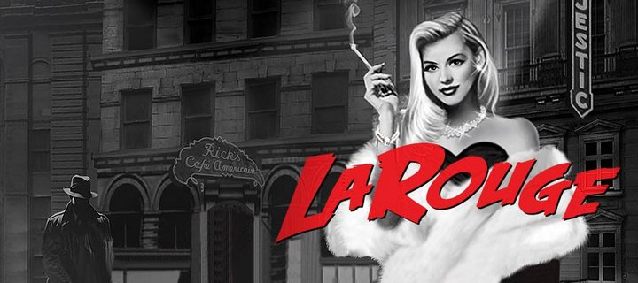 Film Noir Comes at New La Rouge Slot by Microgaming