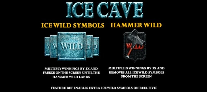 Ice Cave New Slot Machine Game by Playtech