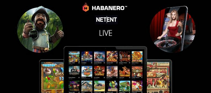 Online Casino Games by Netent And Habanero are available at Black Diamond Casino