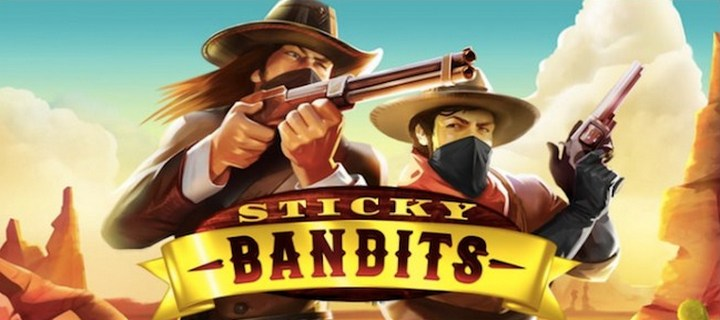 Online Video Slot Sticky Bandits from Quickspin