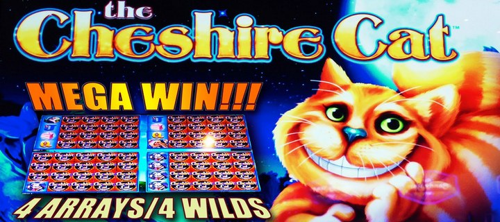 Cheshire Cat Slot by Scientific Games