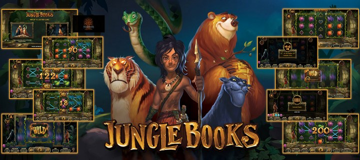 Jungle Books New Slot by Yggdrasil