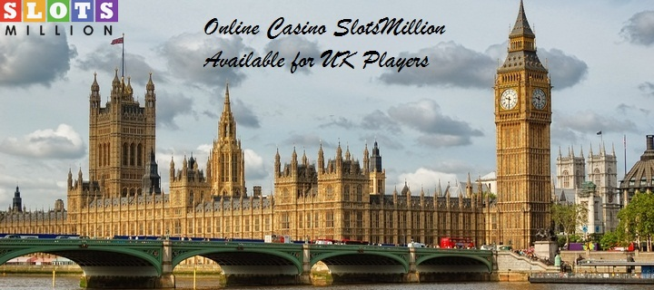 Online Casino SlotsMillion is Available for UK Players
