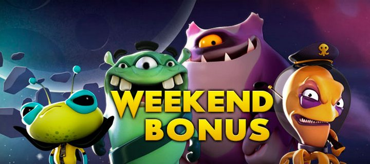 100 Weekend Bonus at Bonanza Game Casino