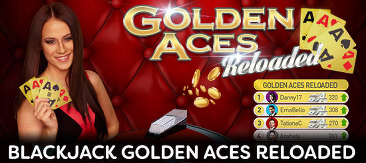 Blackjack Golden Aces Reloaded at Jackpot Paradise Casino
