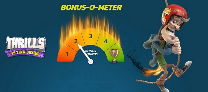 Bonus O Meter at Thrills Casino 720x320