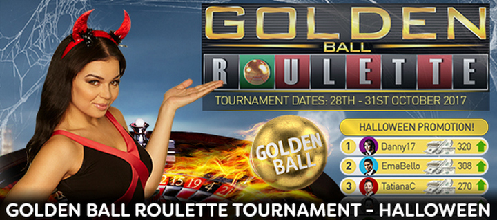 Golden Ball Tournament Halloween at Jackpot Paradise Casino