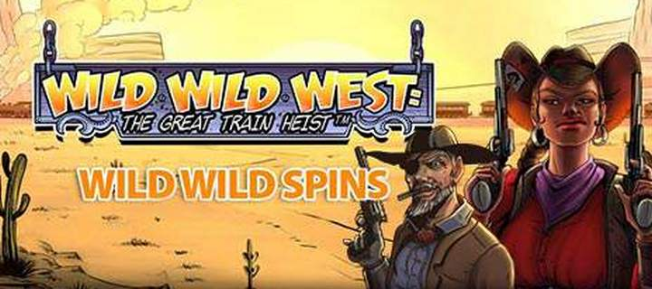 Play Wild Wild West slots at Jackpot Mobile Casino and Get Monday Bonuses