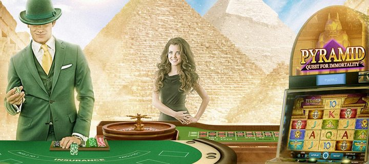 Pyramid Quest for Immortality at Mr Green Casino