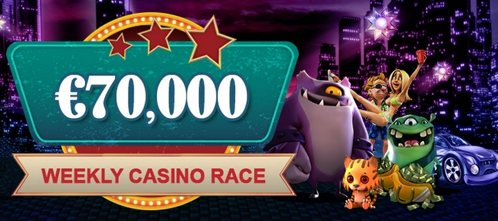 70000 Week Race at Videoslots Casino