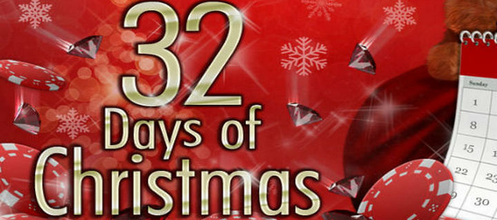 Christmas Offers  at 32red Casino