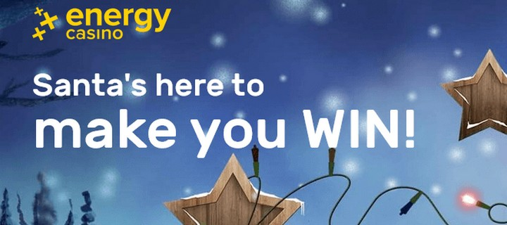 Christmas Offers At Energy Casino