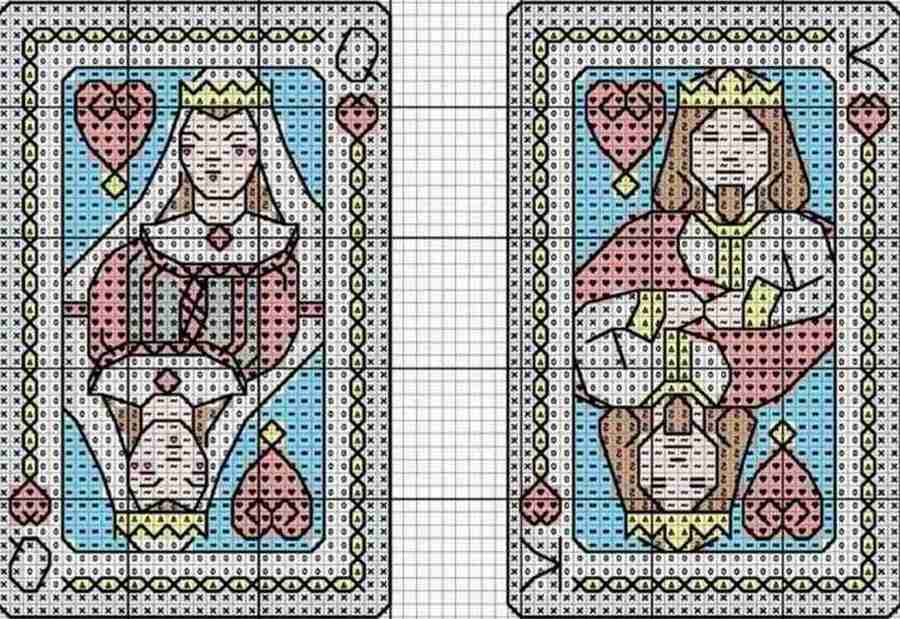 Сasino-Themed Cross-Stitch 2
