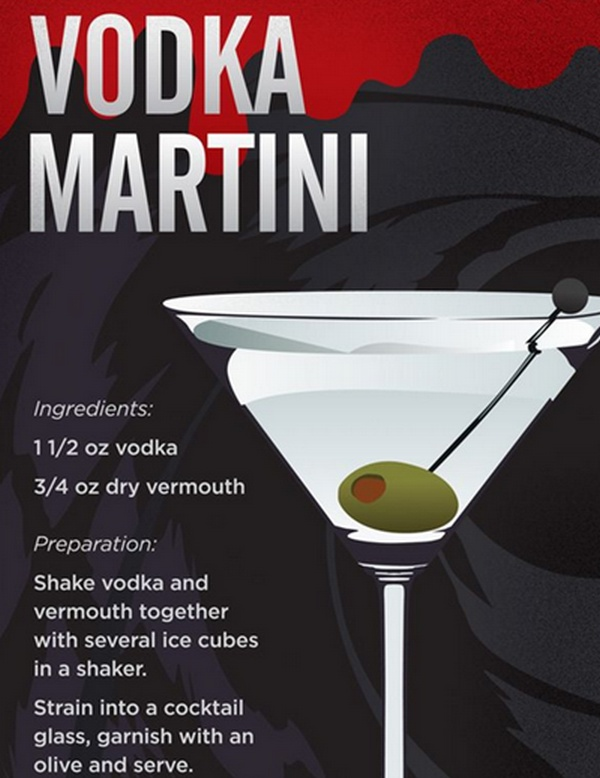 Vodka Martinis