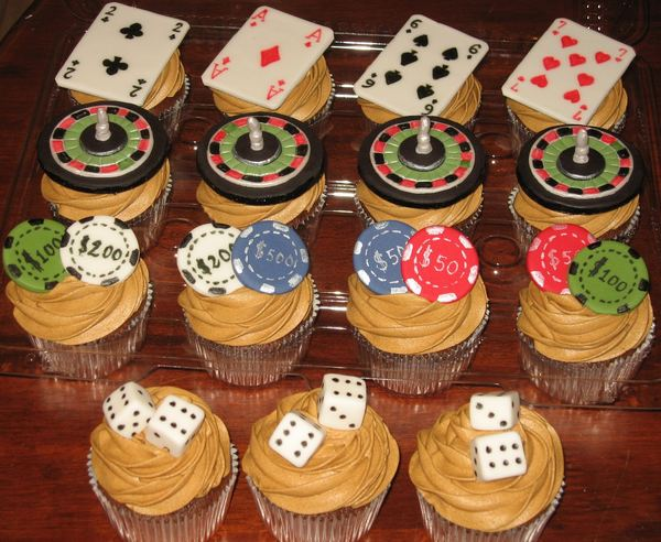 casino themed cakes