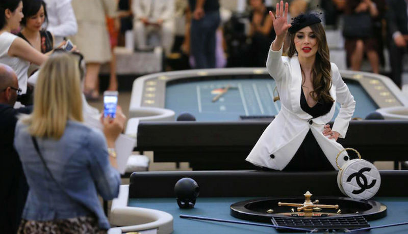 Chanel Casino Fashion Show