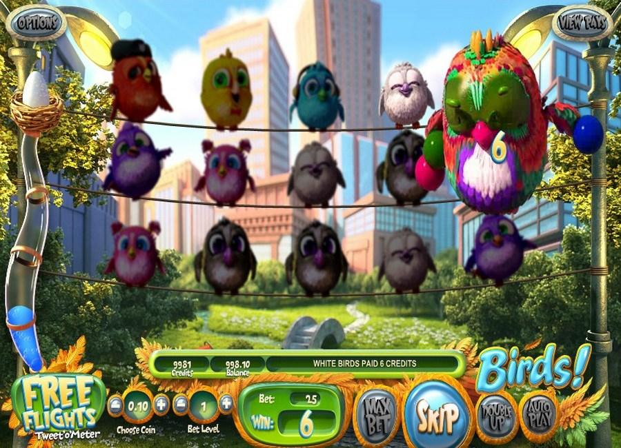 Birds slot machine online betsoft tracker app