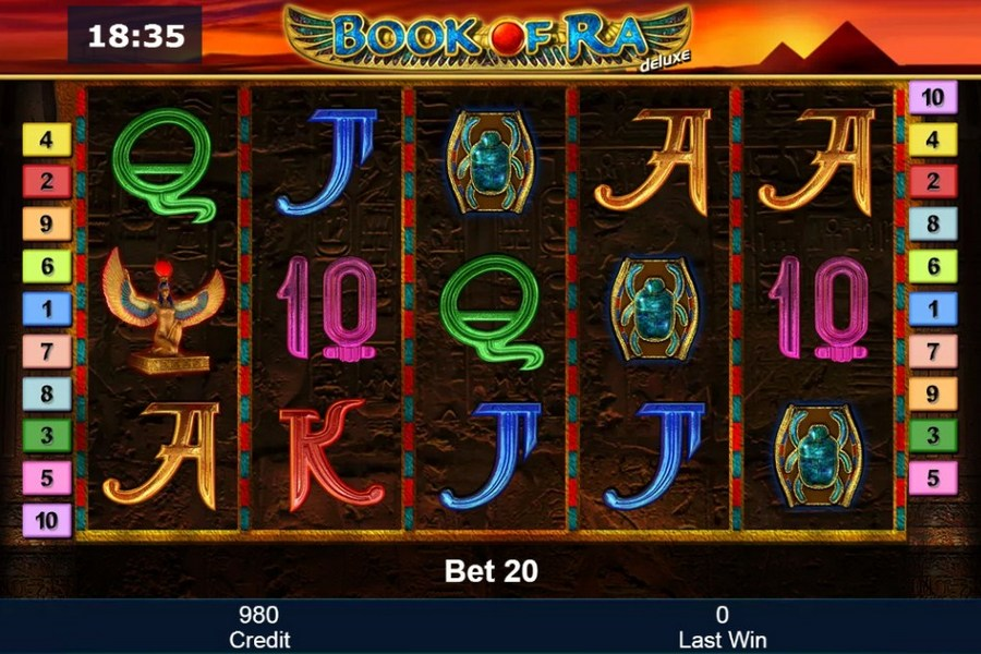 slot machine book of ra gratis