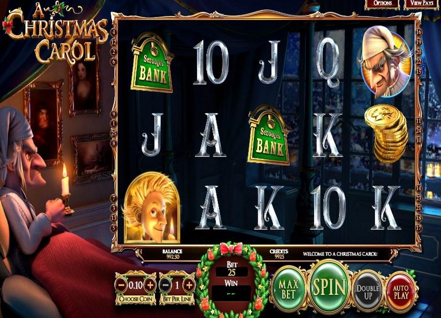 A Christmas Carol Slot Machine