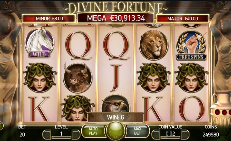 Divine Fortune Slot - Win Big Playing Online Casino Games