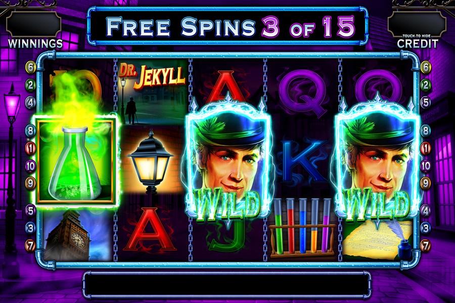 Dr jekyll goes wild barcrest slot game Pozantı