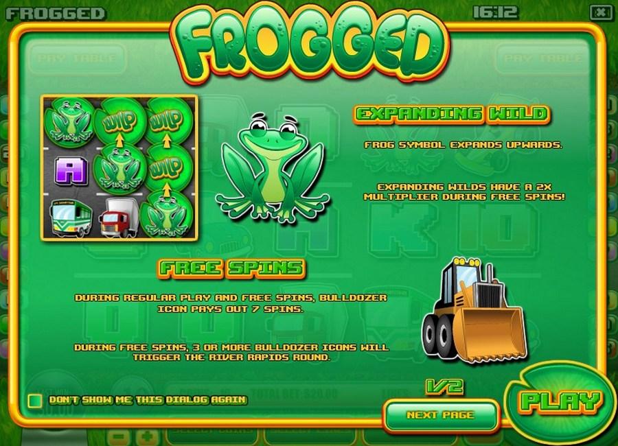 Frogged Slot Machine