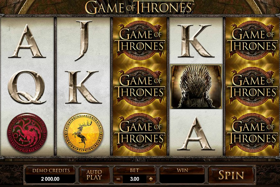 Game of Thrones Slot Machine: Review & Free playing