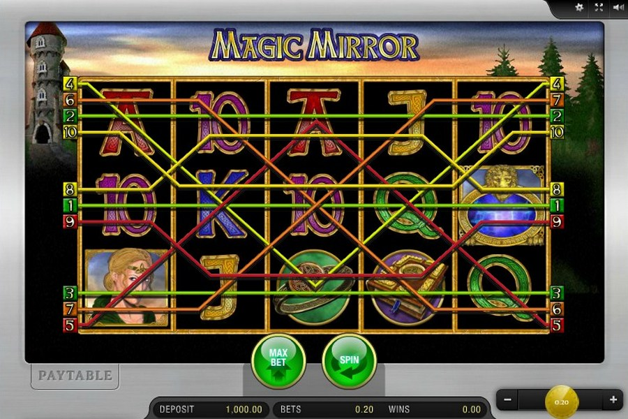 magic mirror casino game