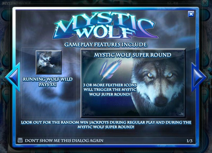 Mystic Wolf Slot Machine Online - Play for Free