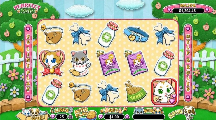Purrfect Slot Machine